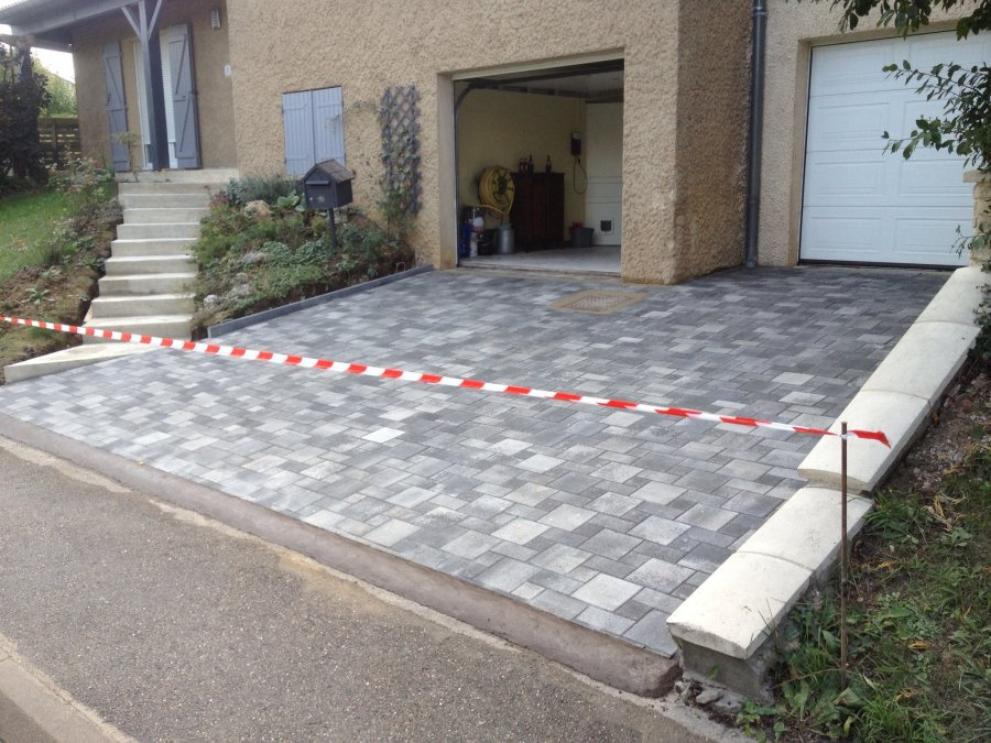 Allee de garage 59 60 pavage dallage - Revetement pour allee de garage ...